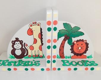 Safari Animal Theme Bookends