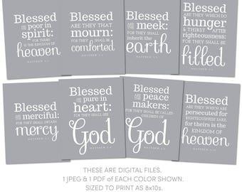 THE EIGHT BEATITUDES OF JESUS - jesuschristsavior.net