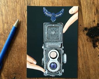 Rolleiflex card