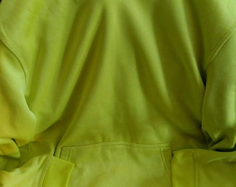 Bright Yellow Hoodie for Big Boys