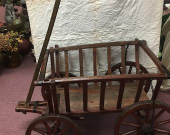 Antique Goat Wagon