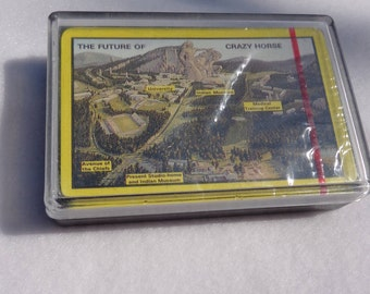 1987 Crazy Horse Memorial Playing Cards
