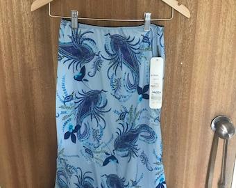 90s Aztec Rose Skirt