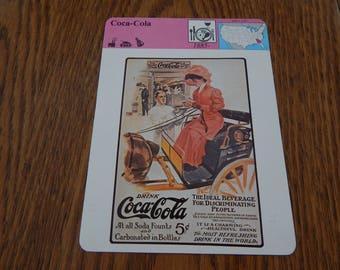 Coca-Cola 1979 Panarizon Publishing Trading Card
