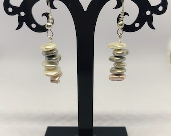 Stack Stone Earrings