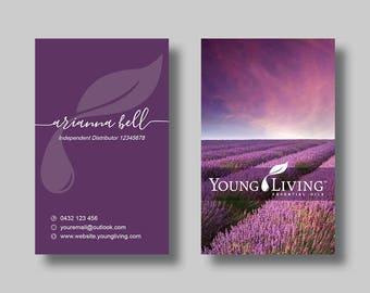 Young Living Essential Oils (Sunset Vertical) - Digital Design