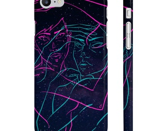 CASE 'Double Trouble' slim phone cover
