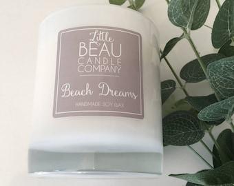 Handmade Soy Wax Candle - Beach Dreams