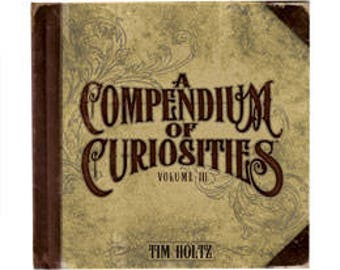 Tim Holtz Compendium of Curiosity Vol. III