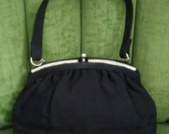 Tiny Little Black Evening Bag