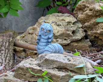 Mini Caterpillar from Alice and Wonderland - For example - Polymer Clay ART Doll  fantasy Burton