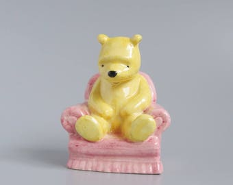 Royal Doulton Winnie the Pooh in the Armchair (Model No WP4) - The Winnie-the-Pooh Collection