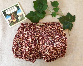Baby girl bloomers diaper cover nappy cover bubble shorts
