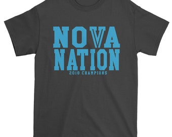 Men's Nova Nation 2018 Champions Shirt Unisex Adult PhilaNova Graphic T-Shirt #1358