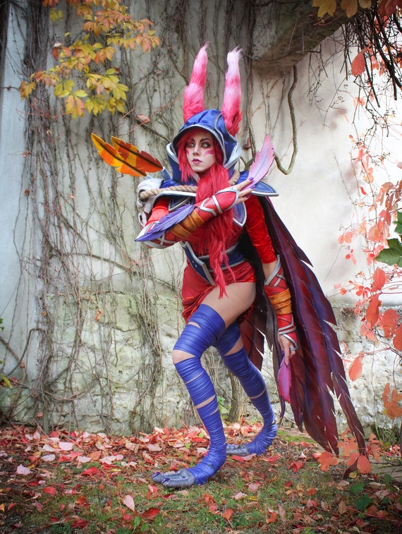 cosplay_Xayah League of Legends Cosplay Costume Good Quality