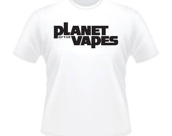 Vaporizer Vaping E Cigarette Planet of the Vapes Apes T-Shirt