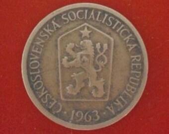 1 Crown - 1963 - Czechoslovakia