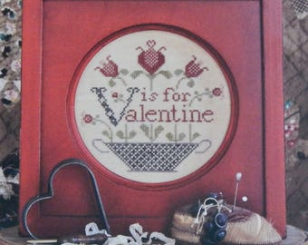 V is for Valentine by Heartstring Samplery