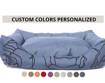 Dog Bed Custom Colors/personalized