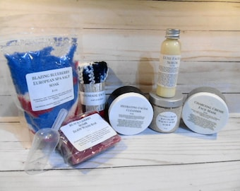 Monthly Subscription Box filled with premium bath and beauty products, artisan, and handcrafted finds. FREE SHIPPING!!