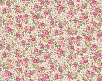 Ruru Victorian Rose  Cotton Fabric Rose ru2320-14A Roses