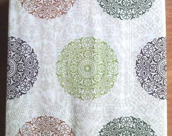 Pinwheel paper towel