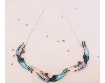 Vintage Trapeze Ladies Necklace