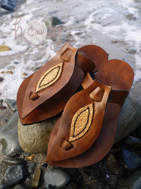 Gold Womens Brown Sandals Leather Leather And Sandals Sandals Leather Brown Gold Leather Sandals Hippie Sandals Leather Mens Sandals rrxRqHv0