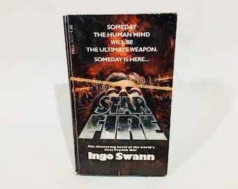 Vintage Thriller Book Star Fire by Ingo Swann 1978 Paperback