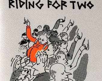 Riding for Two, Zine Comic about Riding the NYC Subway while Pregnant