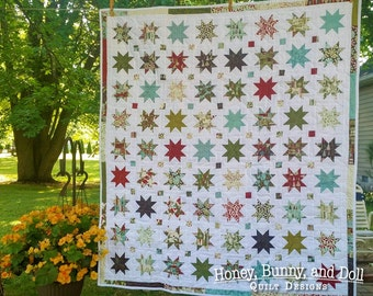 Starlight PDF Quilt Pattern