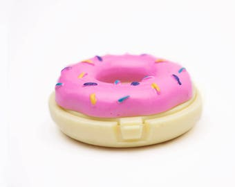 DIY Lip balm empty container - Donut