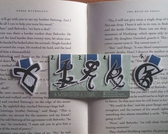 Magnetic Bookmarks | Runes