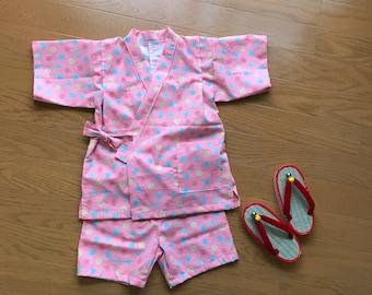 Baby Jinbei , baby Kimono , toddler Jinbei , toddler kimono
