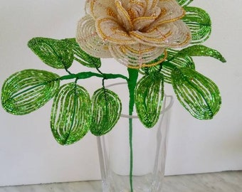 French beaded Roses
