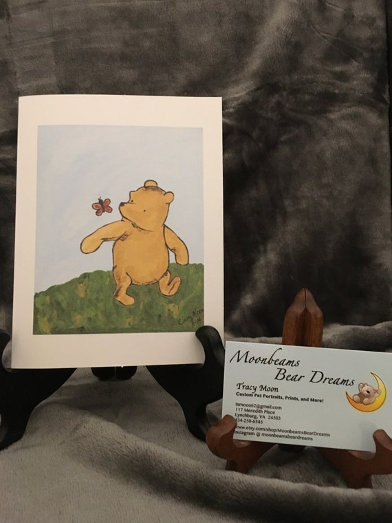 Classic winnie the pooh greeting card thinking of you just m4hsunfo