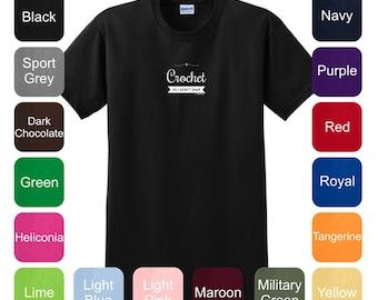 I Crochet So I Don't Snap T-Shirt 2000 - WPP-401
