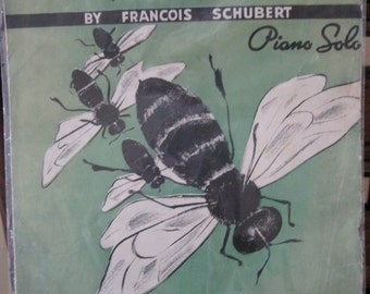 "Antique The Bee (""L'Abeille"") by Francois Schubert) Sheet Music"