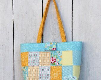 Roundabout Tote pdf bag pattern, bag pattern, pdf pattern, sewing pattern, bag, bagmaking