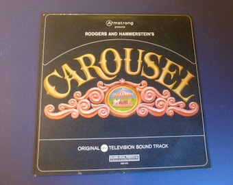 Rodgers And Hammerstein's Carousel Original ABC Television Sound Track Vinyl Record LP CSM 479 Columbia Records 1969