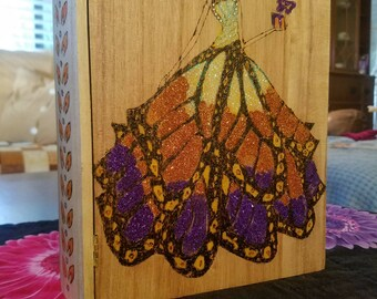 Butterfly fairy jewelry box.