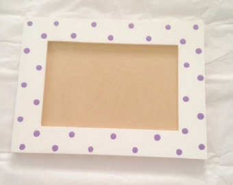 4 x 6 Polka Dot Picture Frame