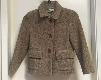 Silvanna Cirri, by Cesil Baby/ vintage coat/ 1970s coat/ size 8