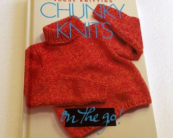 Chunky Knits On the Go - Patterns by Vogue Knitting - First Edition