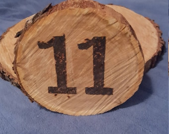 numbered table markers 1-12 available