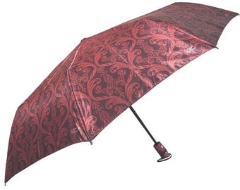 Colorful Auto Open & Close Folding Umbrella, Luxury Windproof Umbrella 931