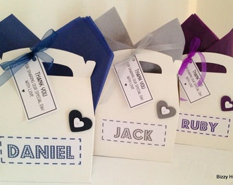 Children's Personalised Wedding Activity Box Hearts