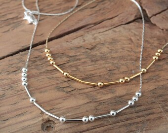 DIY Morse Code Necklace Party Box - FREE Shipping! - DIY jewelry kit - Mother's Day gift - Bridesmaid gift