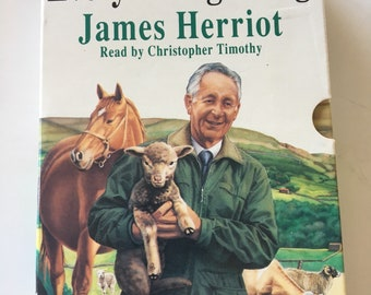 James Herriot's Every Living Thing Audio Cassette Tape Book