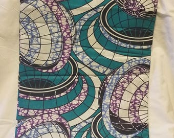 Spiraling Ankara Fabric